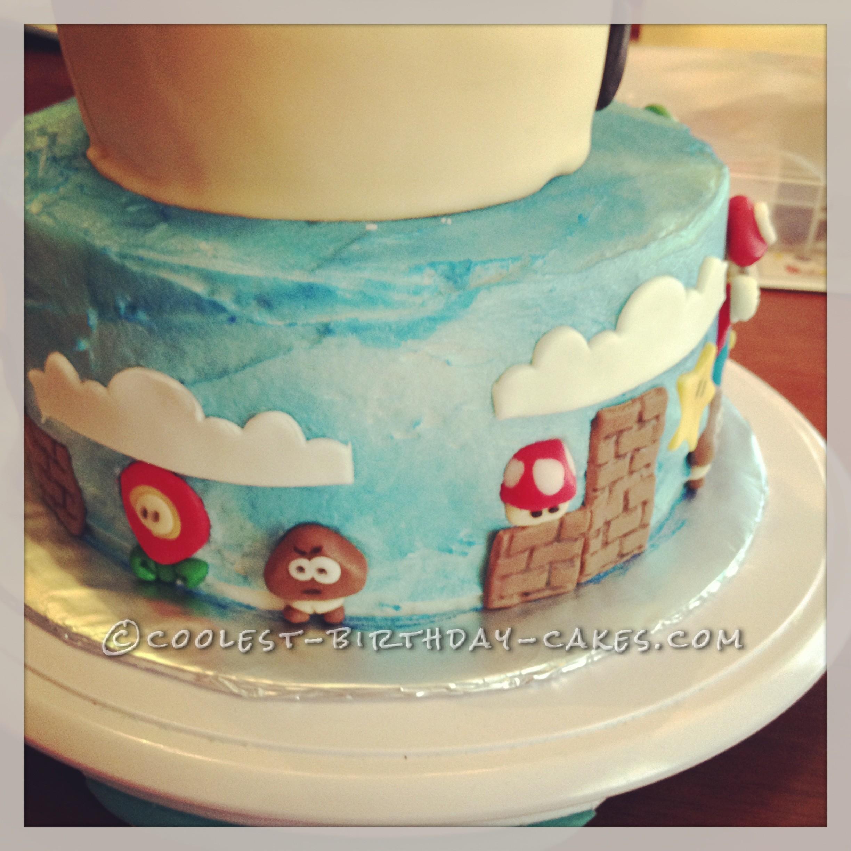 Coolest Mario Brothers Birthday Cake
