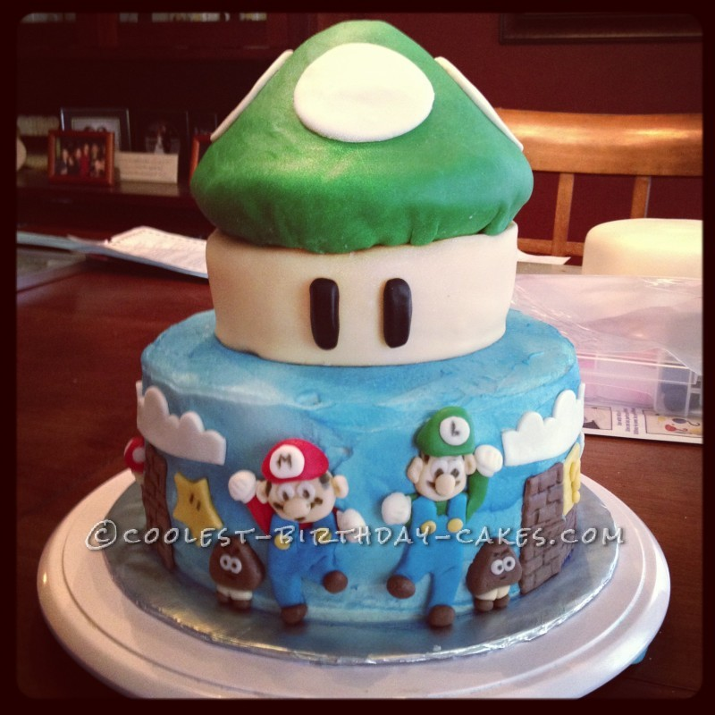 Coolest Mario Brothers Birthday Cake
