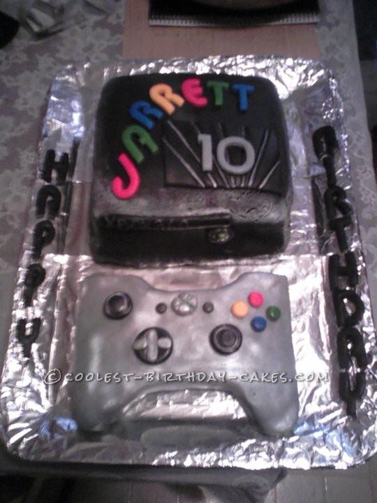 Coolest PS3 Birthday Cake