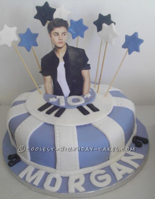 Coolest Justin Bieber Birthday Cake