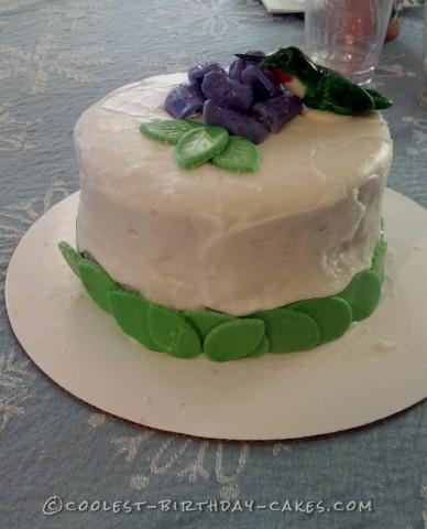 Last-Minute Hummingbird Birthday Cake
