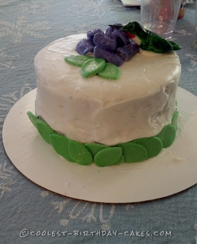 Last-Minute Hummingbird Birthday Cake