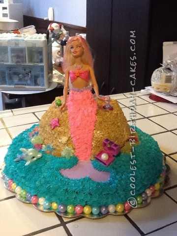 Coolest Mermaid Cake