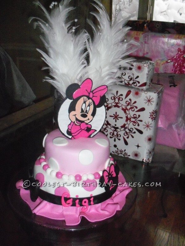Coolest Minnie Mouse Birthday Cake
