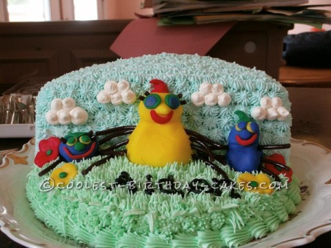 Cool Miss Spider's Sunnypatch Kids Cake