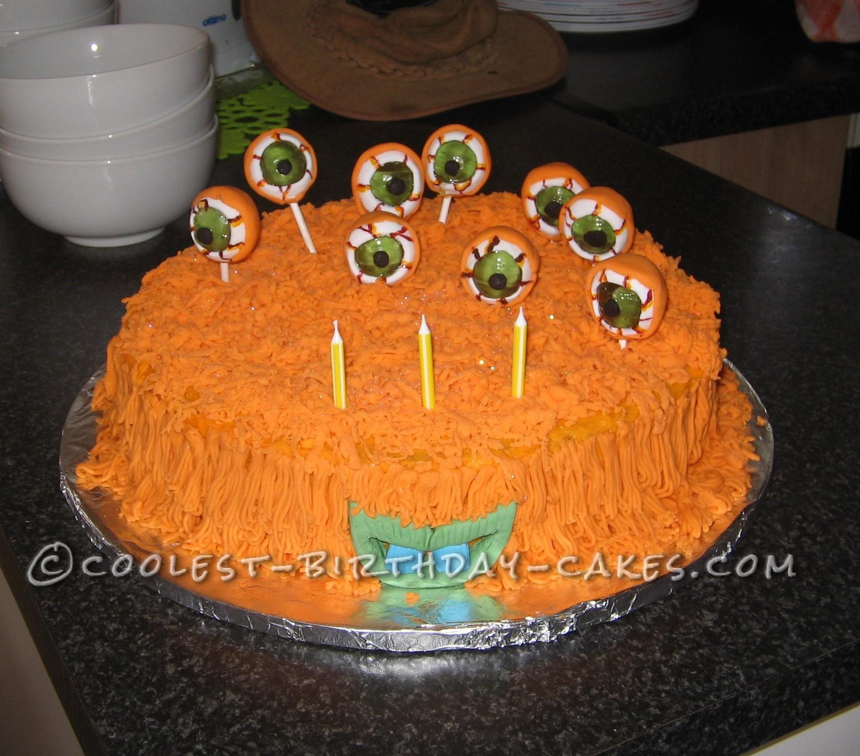Monster Eye Balls Cake for my Little Sweet Monster