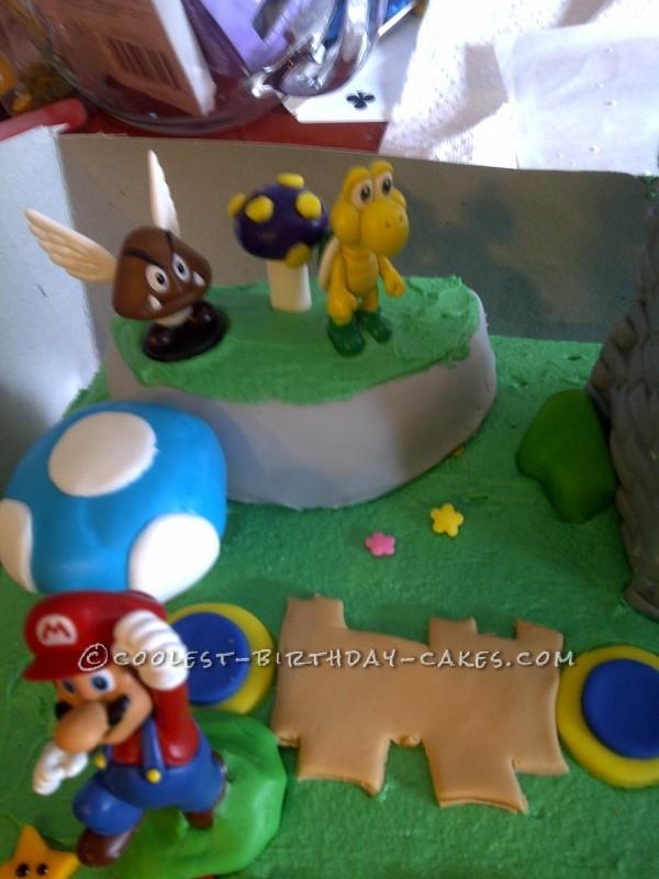 My Son's Super Idea for a Super Mario Bros. Birthday Cake