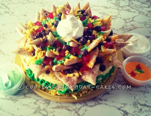 Original Nacho Birthday Cake