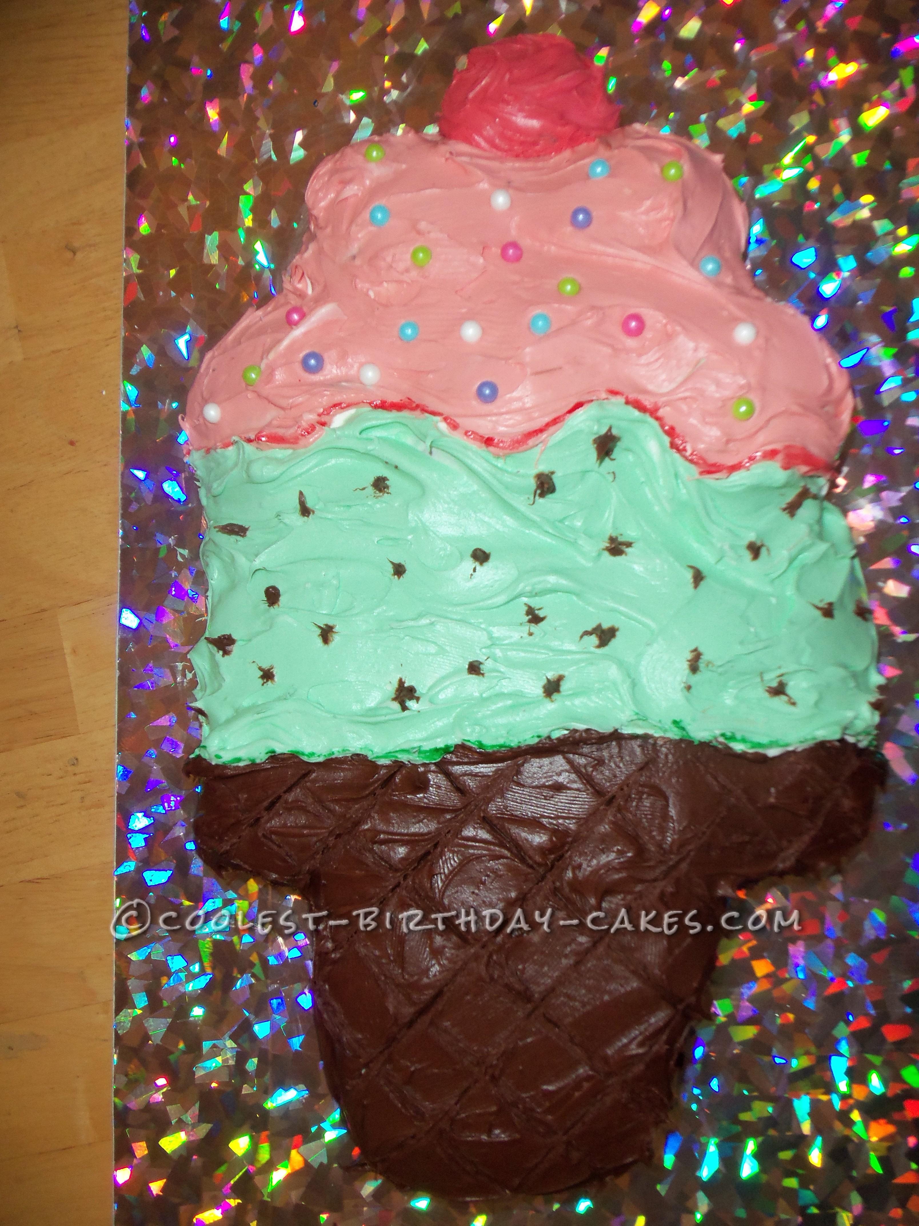 Cool Ice Cream Cake With No Ice Cream
