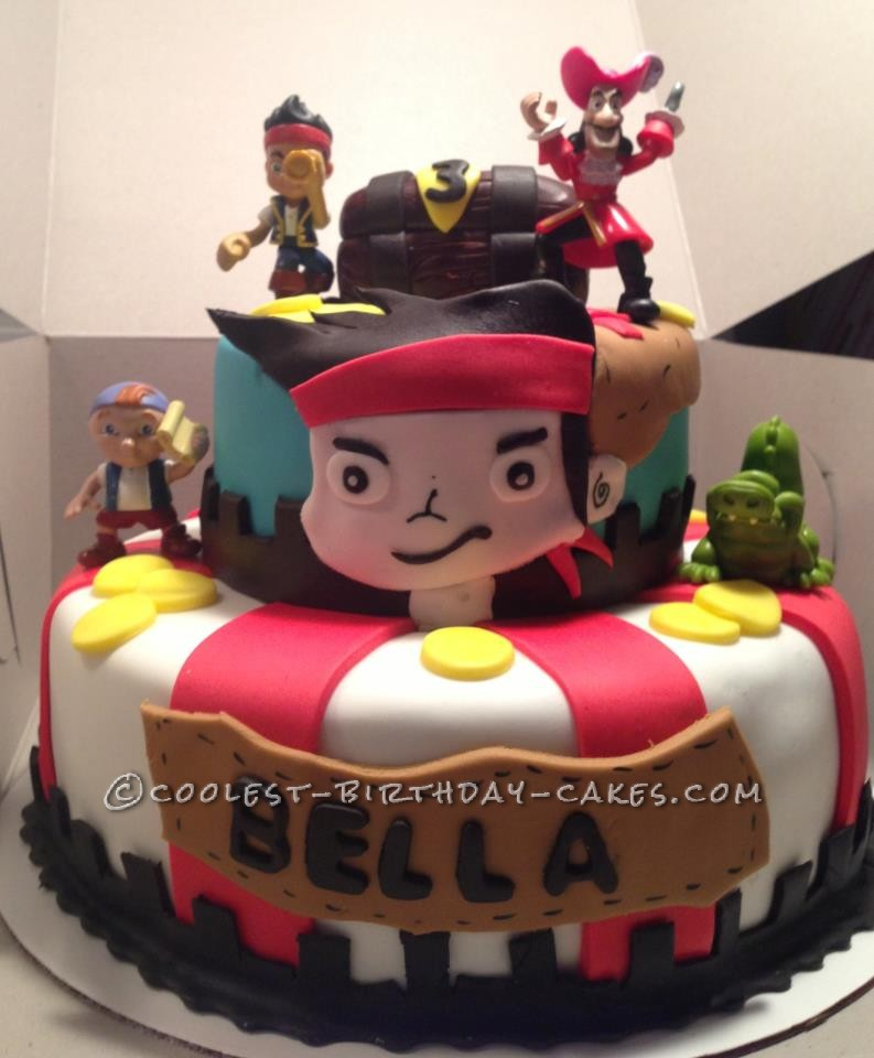 Cool Jake and the Never Land Pirates Cake