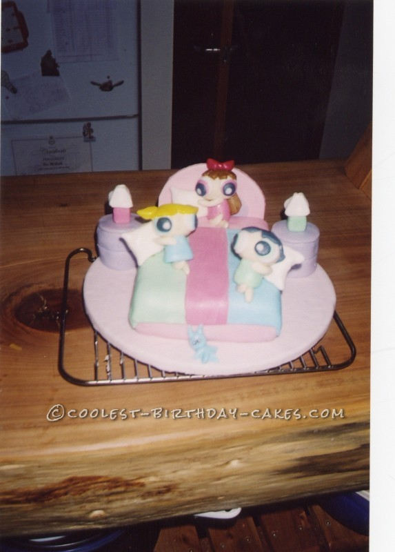 Coolest Power Puff Girls Birthday Cake