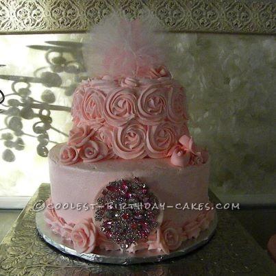 Coolest Prima Balerina Cake for 1st Birthday