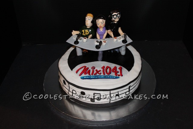 Coolest Radio Station Birthday Cake