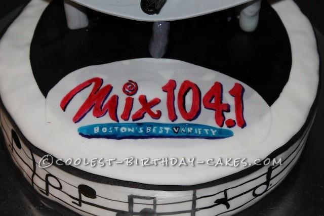 Coolest Radio Station Birthday Cake