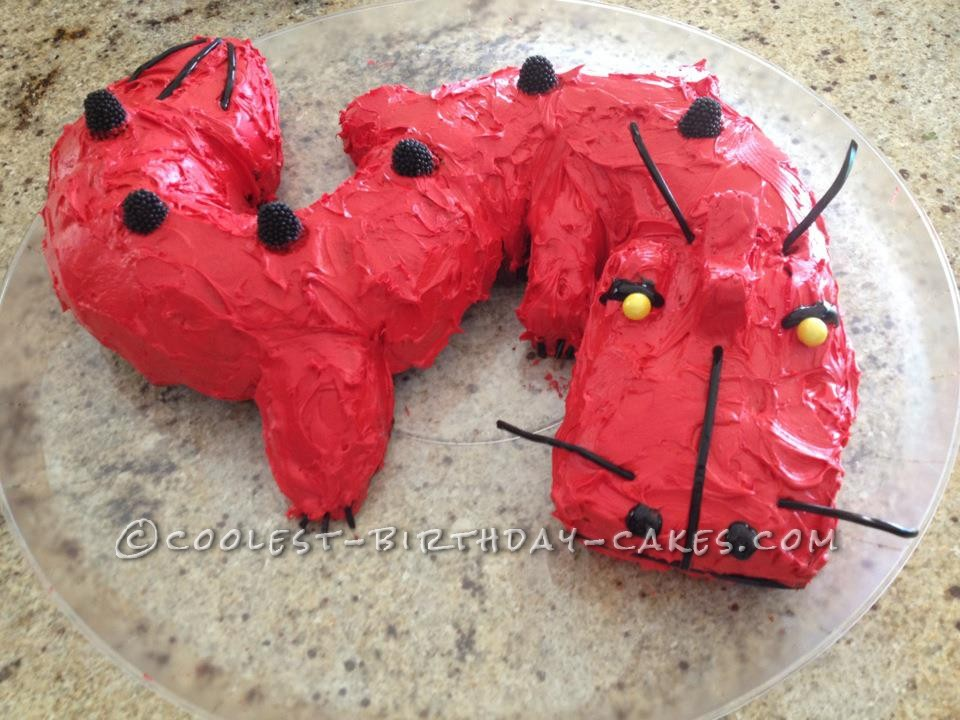 Red Dragon Cake For 10 Year Old Boy