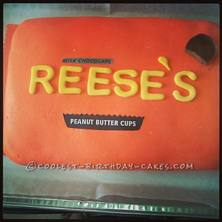 Reese's Peanut Butter Package Cake