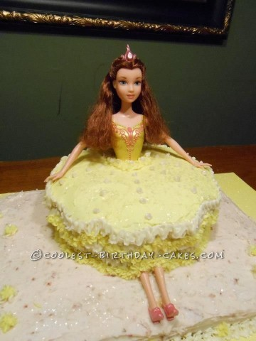 Coolest Princess Ballerina Birthday Cake