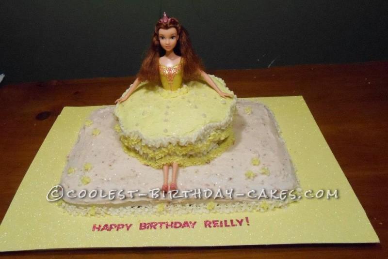 Coolest Princess Ballerina Birthday Cake