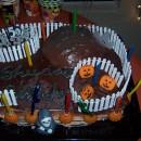 Scary Halloween Birthday Cake