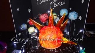 Coolest Solar System Birthday Cake