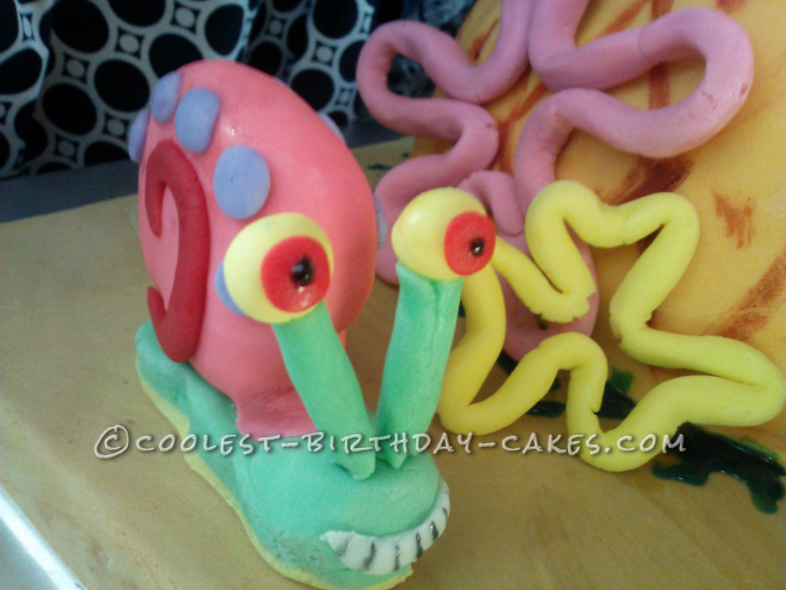 Sponge Bob's Pineapple House Birthday Cake