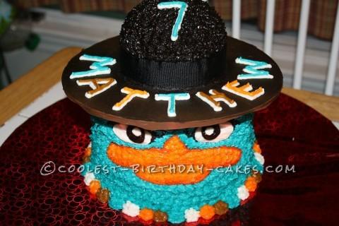 Coolest Agent P Cake