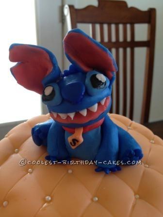 Coolest Stitch on the Beach Birthday Cake