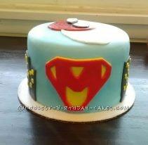 Super Hero Personalized Birthday Cake