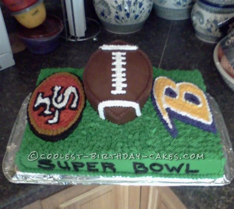 Awesome Superbowl Cake