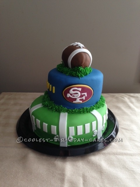 Coolest Superbowl XLVII Cake