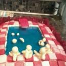 Cool Swimming Pool Cake