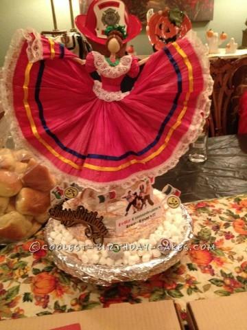 Mexico-licious Halloween Birthday Cake!