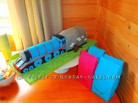 Coolest Gordon Train Birthday Cake