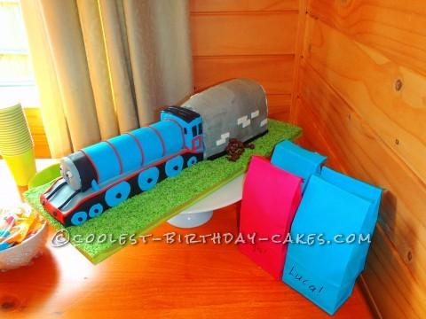 Coolest Gordon Train Birthday Cake