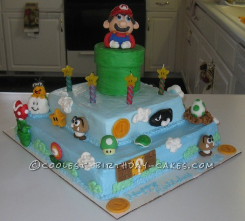 Coolest Mario Cake