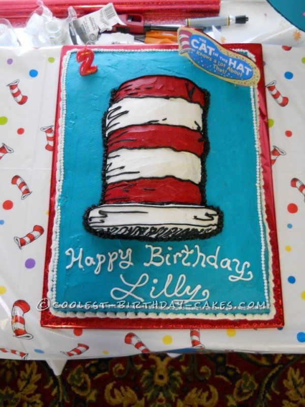 The Cat in the Hat Knows A Lot About That... Birthday Cake!
