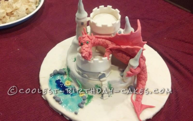 Cool Dragon Slayer Birthday Cake