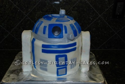 Coolest R2D2 Birthday Cake