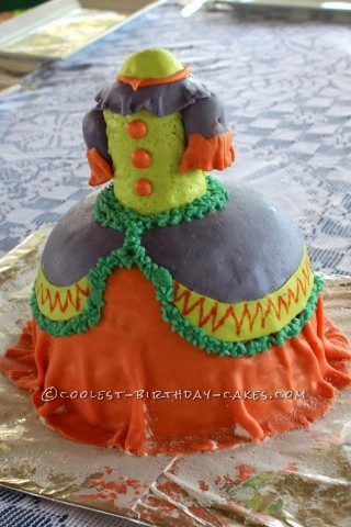 The Ugly Dress Cake