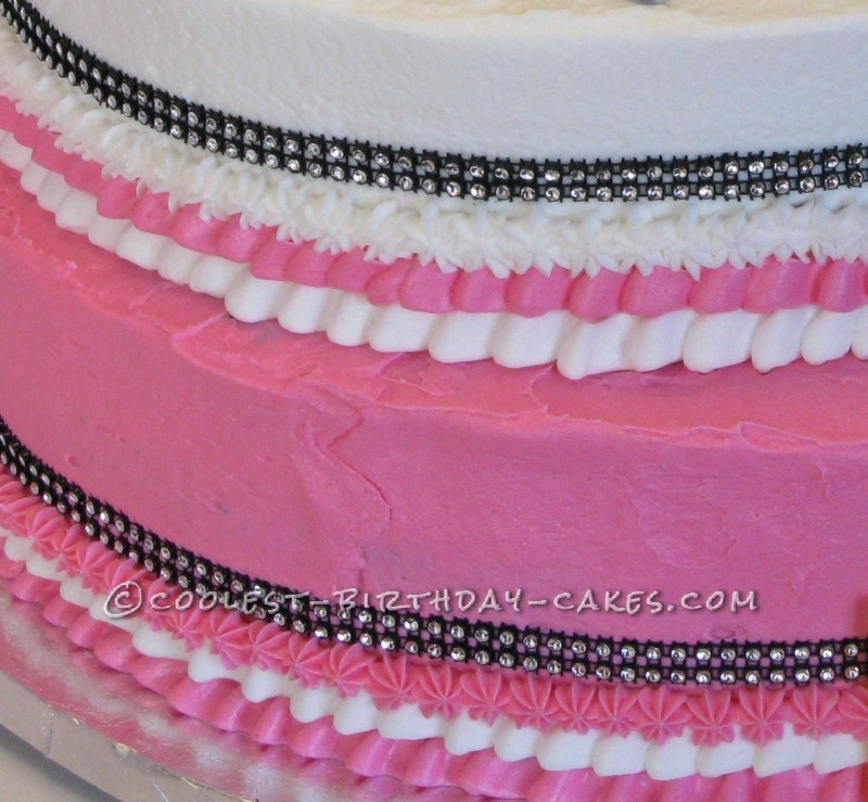 Ultimate 40th Birthday Girly Cake