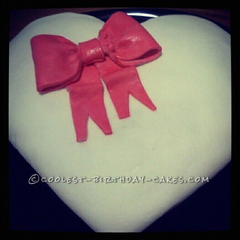 Valentines Cake For My Sons Class Party