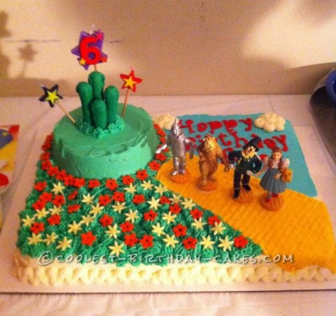 Coolest Wizard of Oz Cake