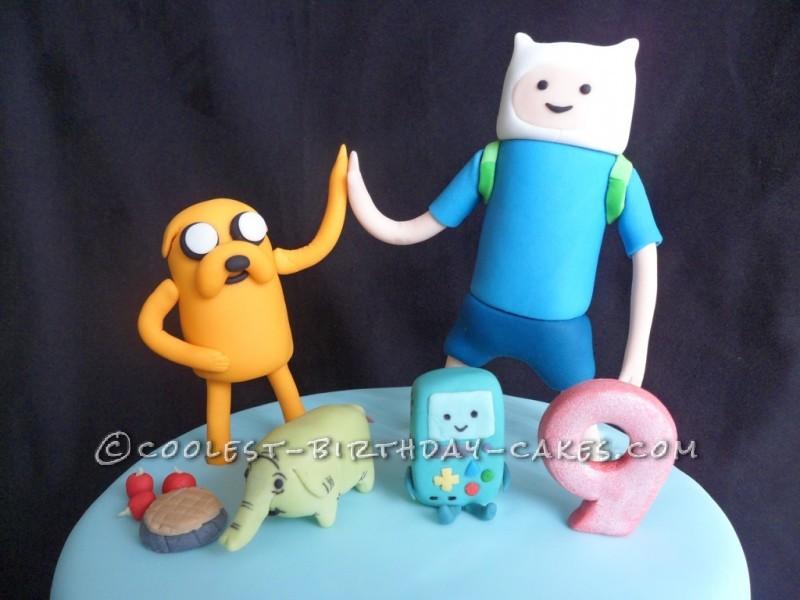 Coolest Adventure Time Cake