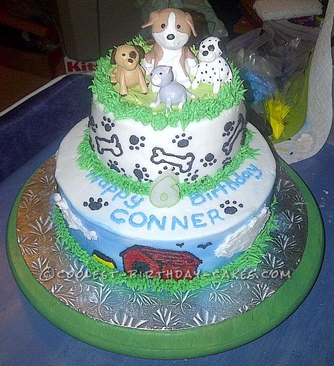 Wicked Animal Friends Cake For 6 Year Old Boy