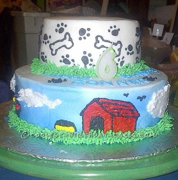 Wicked Animal Friends Cake for 6 Year-Old Boy