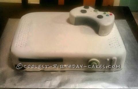 Coolest XBOX 360 Cake