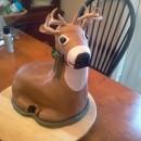Coolest deer cake