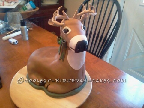 Coolest deer cake