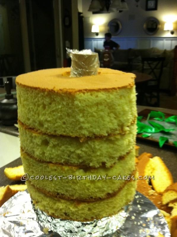 Coolest 3D Pineapple Birthday Cake