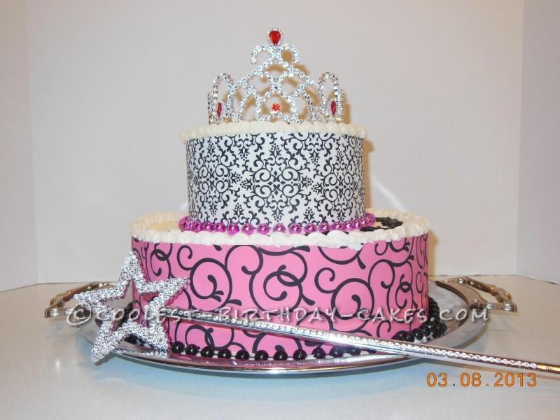 40 Year Old Diva Birthday Cake